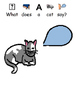 What Did The Farm Animal Say? Therapy and homework sheets (Autism, Speech)