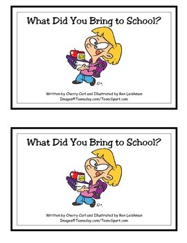 What Did You Bring to School? Guided Reader (Br blend)