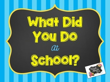 What Did You Do At School? [FREE]