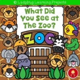 What Did You See at The Zoo?  Emergent Reader Set
