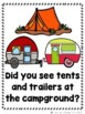 What Did You See at the Campground?  (Emergent Reader and