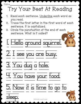 What Do Animals Do In Winter: Literacy Work for Preschool and Kindergarten