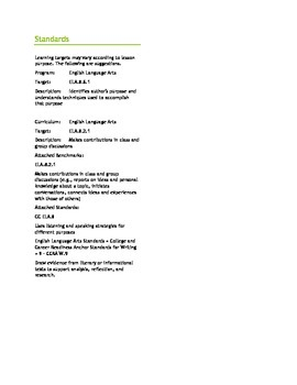 Close Reading - Compare & Contrast 7th or 8th Grade CC 7.8.9 or CC 8.8.9