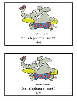 What Do Elephants Do? Reproducible Guided Reader
