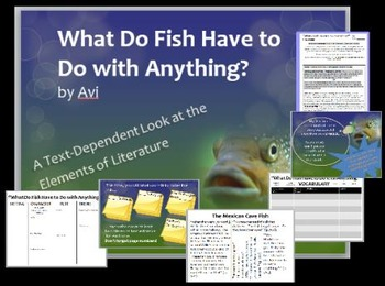 """What Do Fish Have to Do with Anything?"" by Avi: Study Guide, Test, and Project"