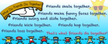 What Do Friends Do Together? Bookmark