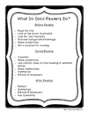 What Do Good Readers Do? Anchor Chart
