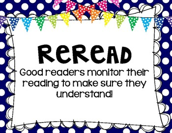What Do Good Readers Do?  (Poster Set)