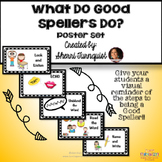"""""""What Do Good Spellers Do?"""" Spelling Strategy Posters"""
