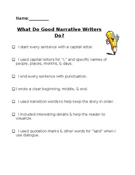 What Do Good Writers Do?