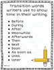 What Do Good Writers Do? They use Transition Words!