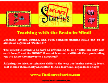 "The Secret Stories® ""Zoo Keeper-Trick"" for Getting Kids to WRITE like they READ!"