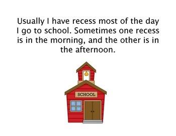 Social Story - What Do I Do At Recess