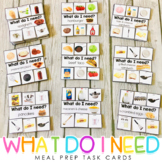 What Do I Need? {meal prep, life skills, independence}