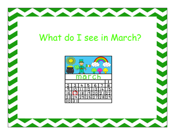 What Do I See in March?