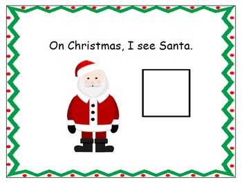 What Do I See on Christmas?