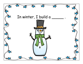 What Do I See in Winter? Interactive Vocabulary Book
