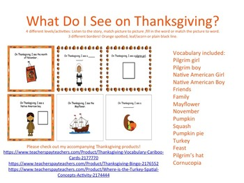 What Do I See on Thanksgiving?