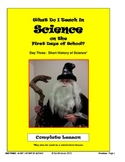 What Do I Teach on the First Days of School in Science:  DAY THREE