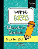 What Do I Write About? {Interactive Writing Notebook}