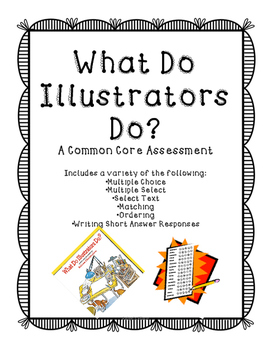 What Do Illustrators Do Assessment