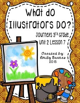 What Do Illustrators Do? Journeys 3rd Grade Unit 2 Lesson 7