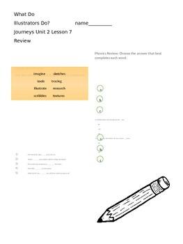 What Do Illustrators Do? Review Journeys Lesson 7