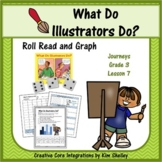 What Do Illustrators Do - Roll Read Graph Game