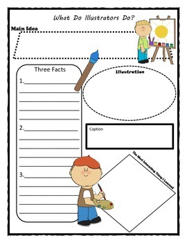 What Do Illustrators Do Story Map Graphic Organizer