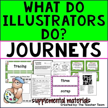 What Do Illustrators Do? Journeys Third Grade Supplemental