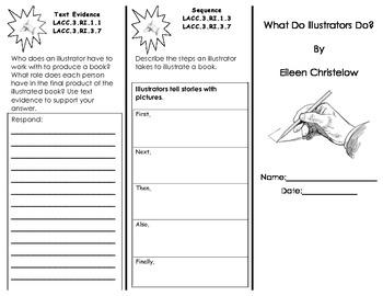 What Do Illustrators Do? Trifold/ 3rd Grade Journeys HMH C