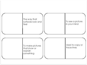 What Do Illustrators Do? Vocabulary Dominos-- Journeys Grade 3 Unit 2: Lesson 7
