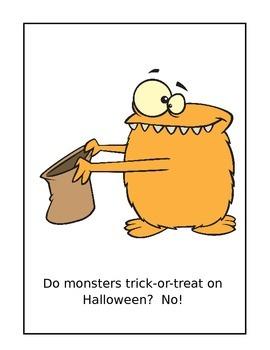 What Do Monsters Do? Reproducible Read Aloud