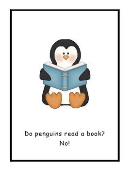 What Do Penguins Do? Read Aloud Big Book