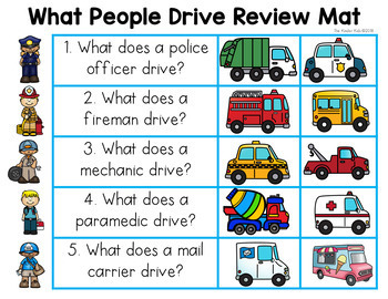 What Do People Drive? Emergent Reader