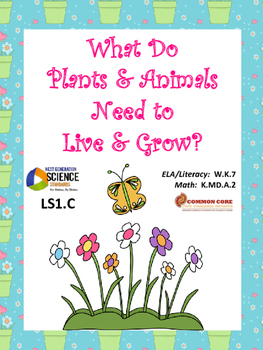 What Do Plants & Animals Need? Trade Books w/NGSS K-LS1.C