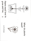 What Do Plants Need?- a guided reading book