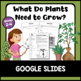 What Do Plants Need to Grow? Google Slides