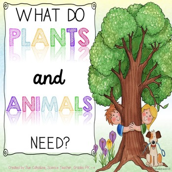what do plants and animals need aligns with ngss k ls1 1 tpt. Black Bedroom Furniture Sets. Home Design Ideas