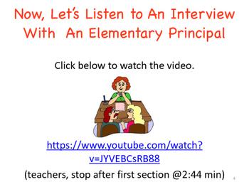 What Do Principals Really Do? Opinion Writing Task