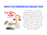 What Do Principals Really Do? Opinion Writing Task