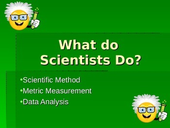 What Do Scientists Do? powerpoint
