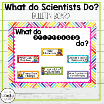 Science Bulletin Board Set, What Do Scientists Do?