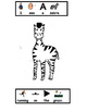 What Do The Animals Do At The Zoo Printable BW Book & questions (Zoo, Autism)