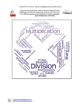 What Do We Know About Multiplication & Division?