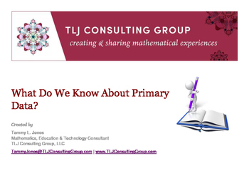 What Do We Know About Primary Data?