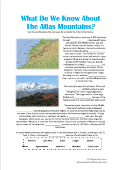What Do We Know About The Atlas Mountains?