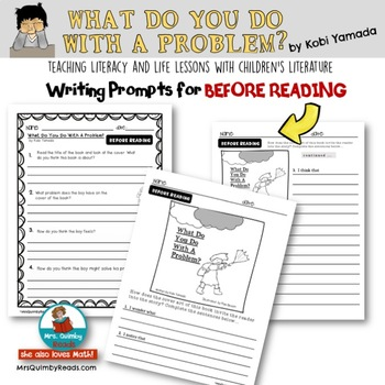 What Do You Do With A Problem | Book Companion | Reader Response Pages