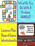 What Do You Do With A Problem Lesson Plan and Game BUNDLE!