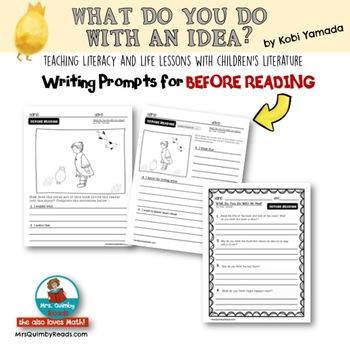 What Do You Do With An Idea? | Book Companion | Reader Response | Kobi Yamada